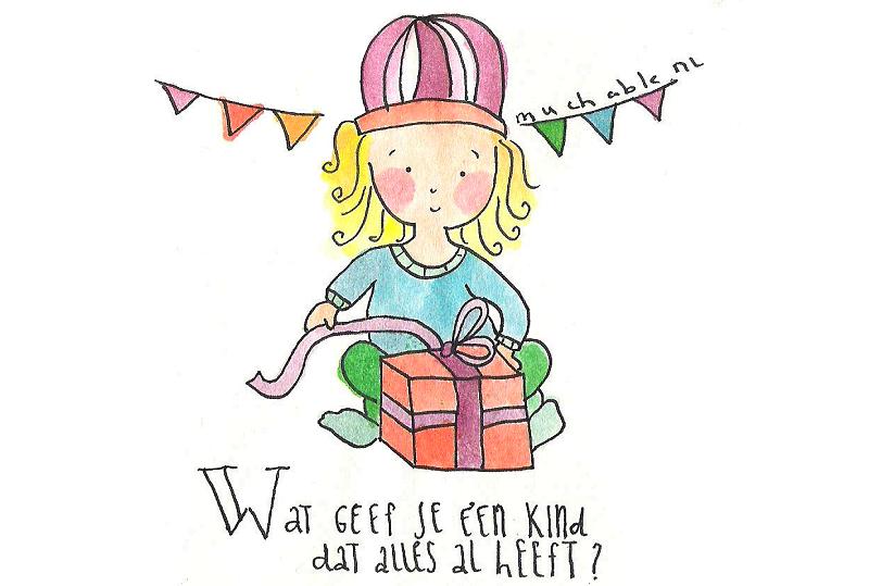 Verjaardag-illustraite