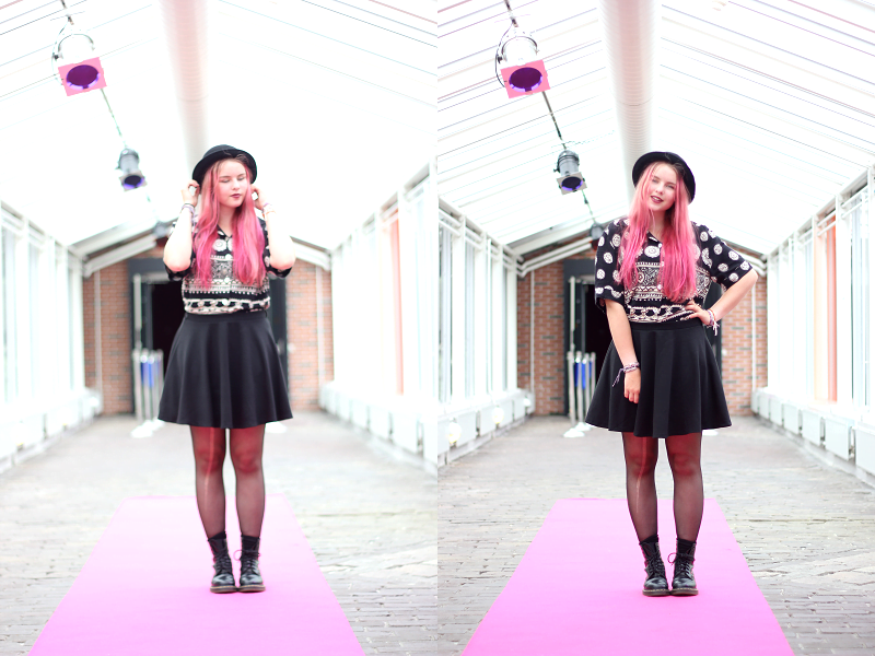 Outfit-modeshow