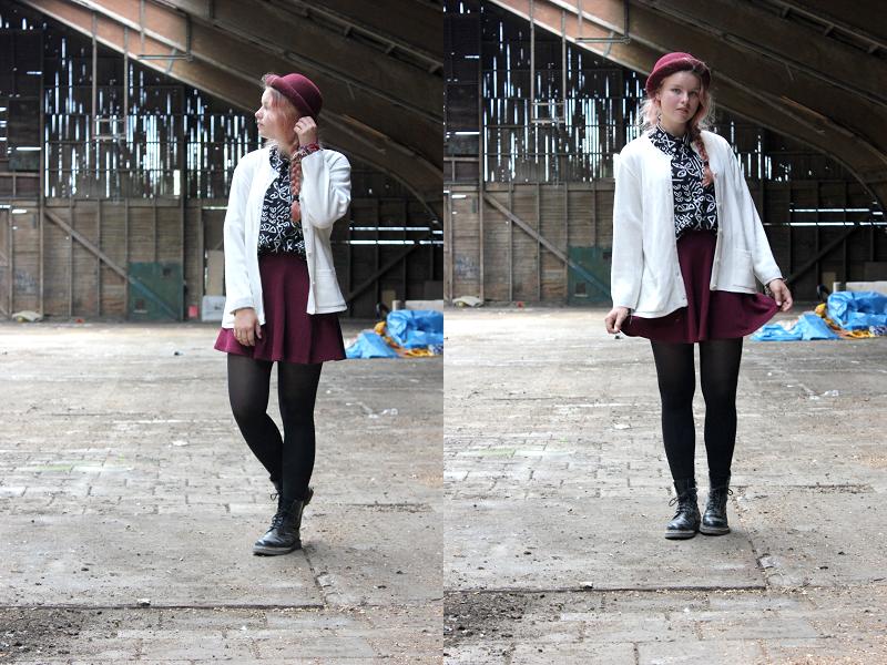 Outfit-verlaten