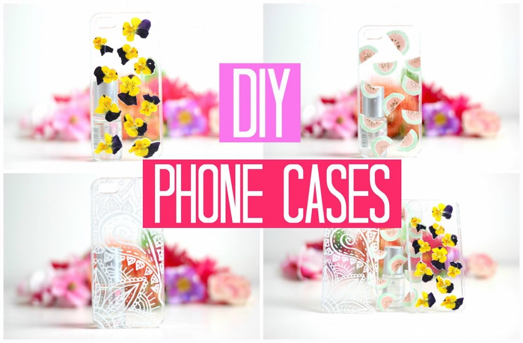 DIY Easy Phone Cases! + WINACTIE