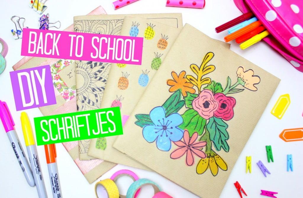 Back to school / #DIY schriftjes #02!