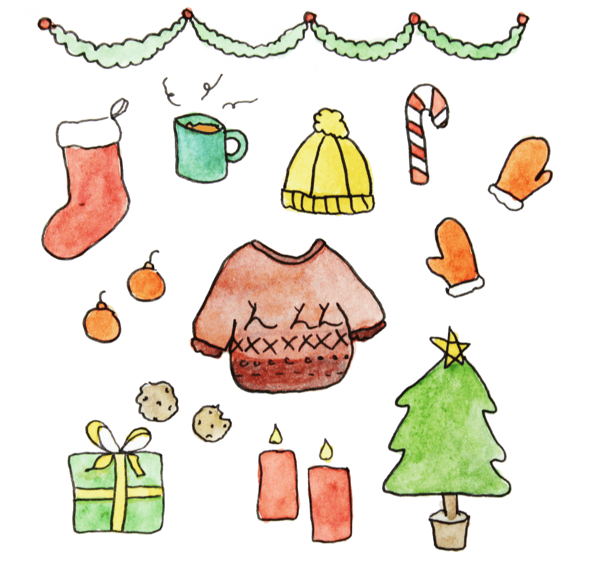 Illustration // It\'s almost Christmas! - Muchable