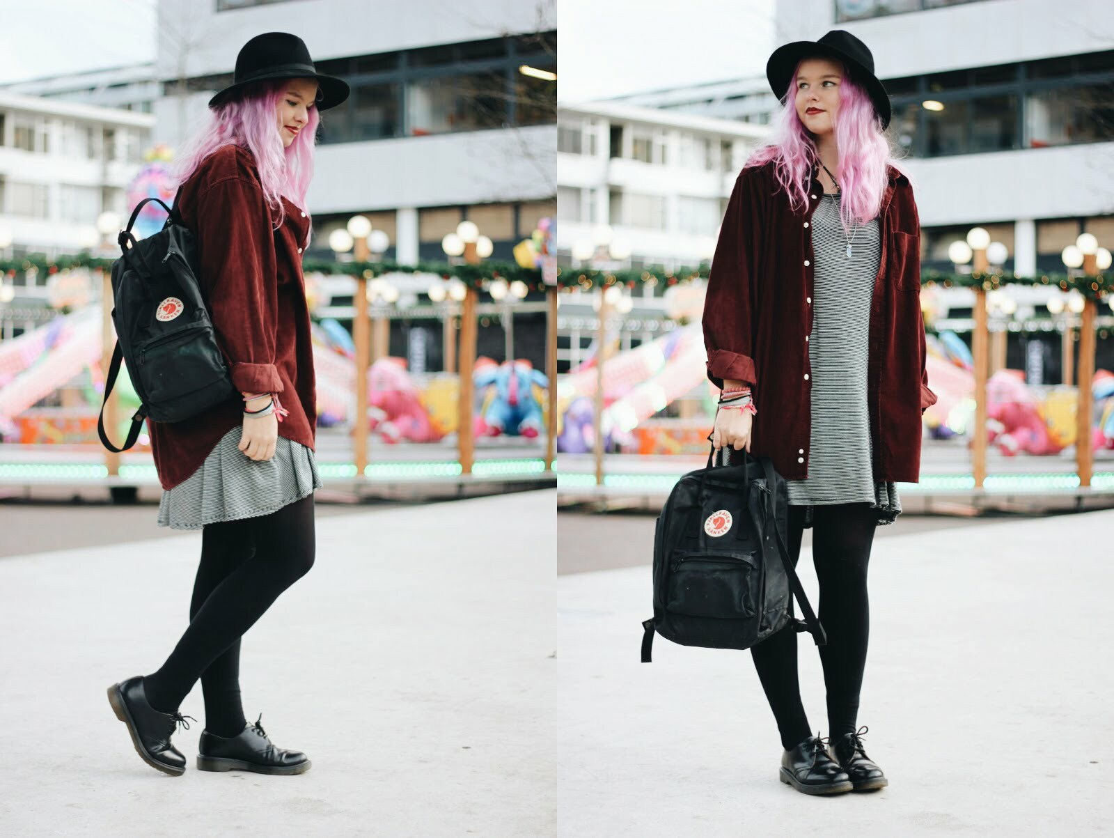 Outfit roze haar - Muchable