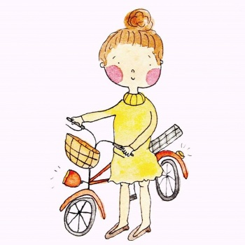 Illustratie fiets