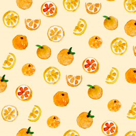 Oranges patroon