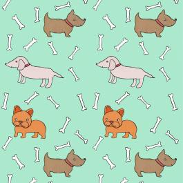 Patroon hondjes