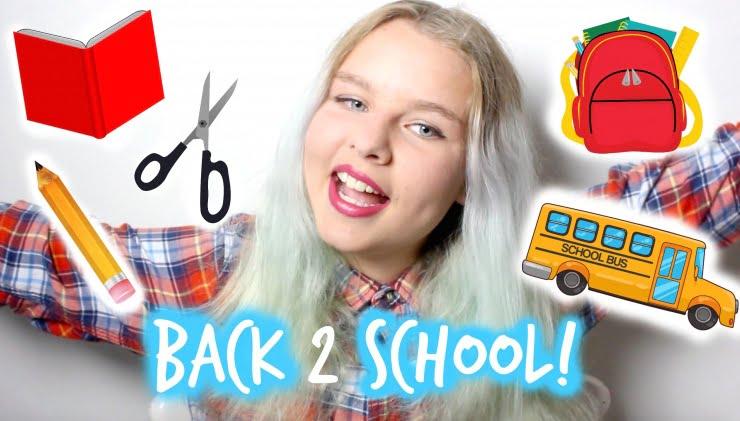 Back2school DIY / schriften pimpen!