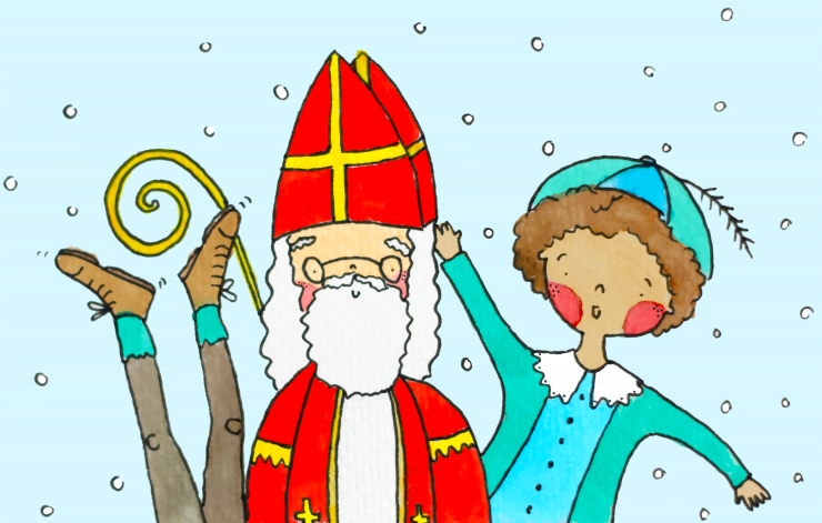 Illustratie / Sinterklaasfeest!