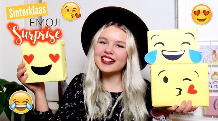 DIY simpele sinterklaas surprise Emoji!