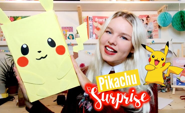 DIY / Sinterklaas surprise Pikachu/Pokemon!