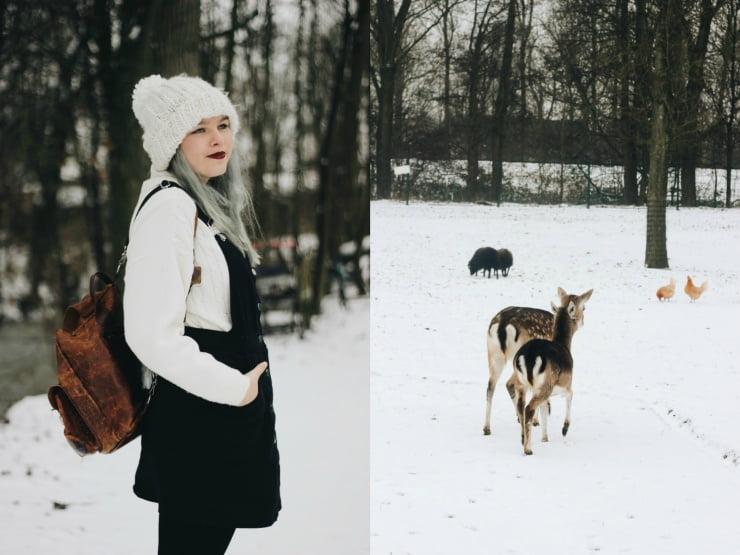 Outfit / Vallende sneeuwvlokjes