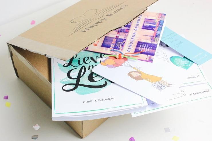 Unboxing boekenbox HappyReads!
