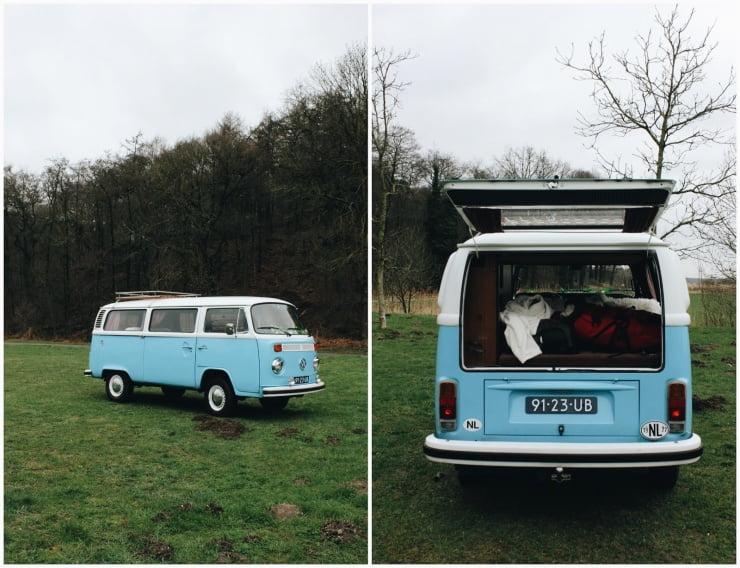 Toeren in een Volkswagenbusje (2) + vlog!