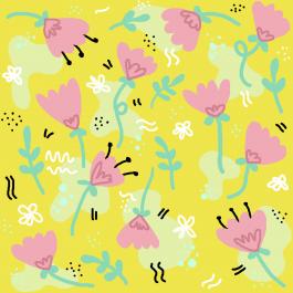 Patroon bloemen