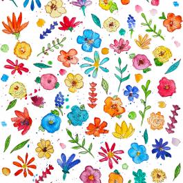 bloemen-patroon