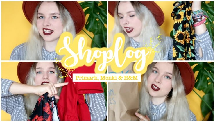 Shoplog Monki, Primark & H&M!