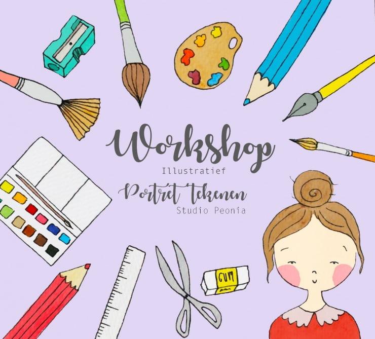 Ik geef weer een nieuwe workshop!