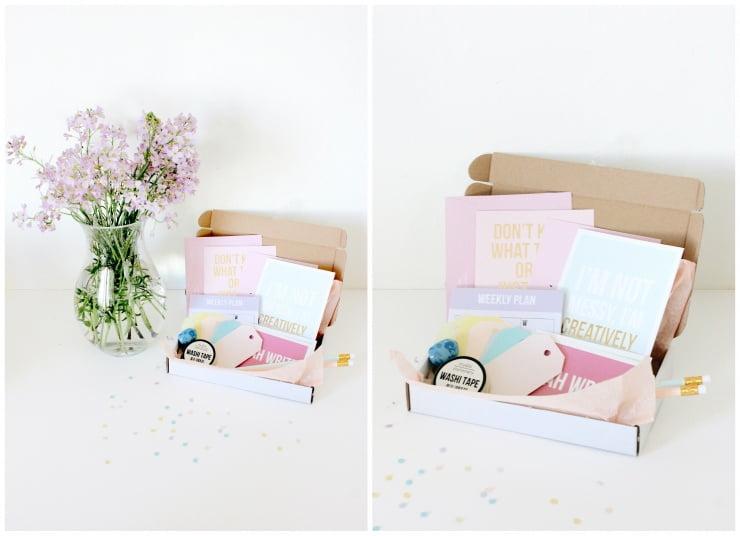 Verrassingsbox van Post&Papier!