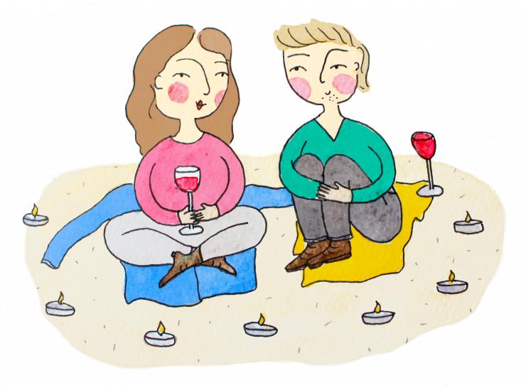 Hoe zorg je voor een romantische avond?