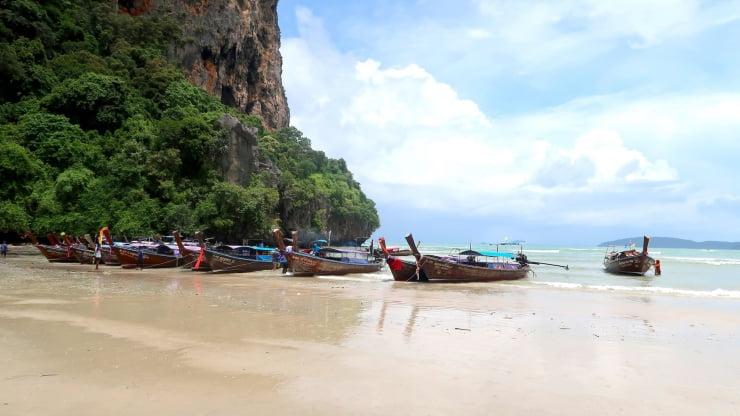 Thailand Railey beach, snorkelen & kajakken!