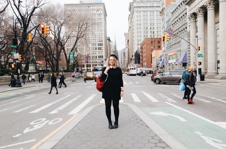 Outfit New York / een nieuwe Fjällräven tas